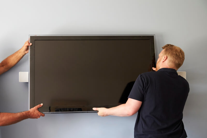 Visual Displays Video Panel Installation