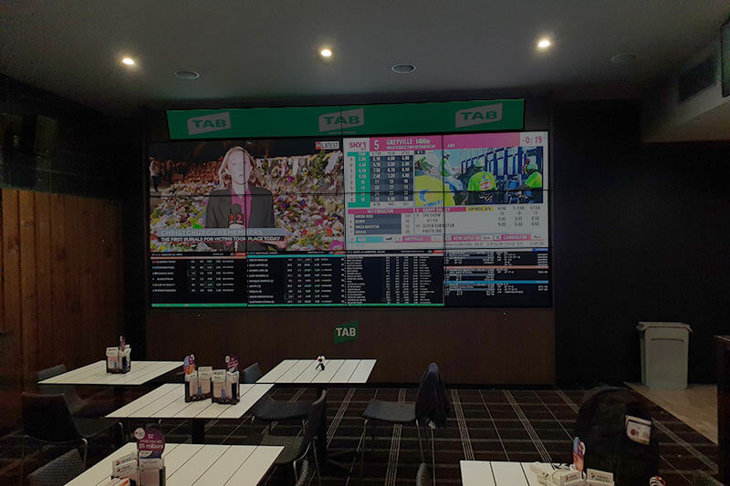 Visual Displays Video Wall